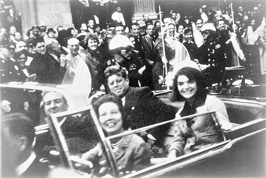 The Assassination of President John F. Kennedy in Dallas, Nov. 22, 1963